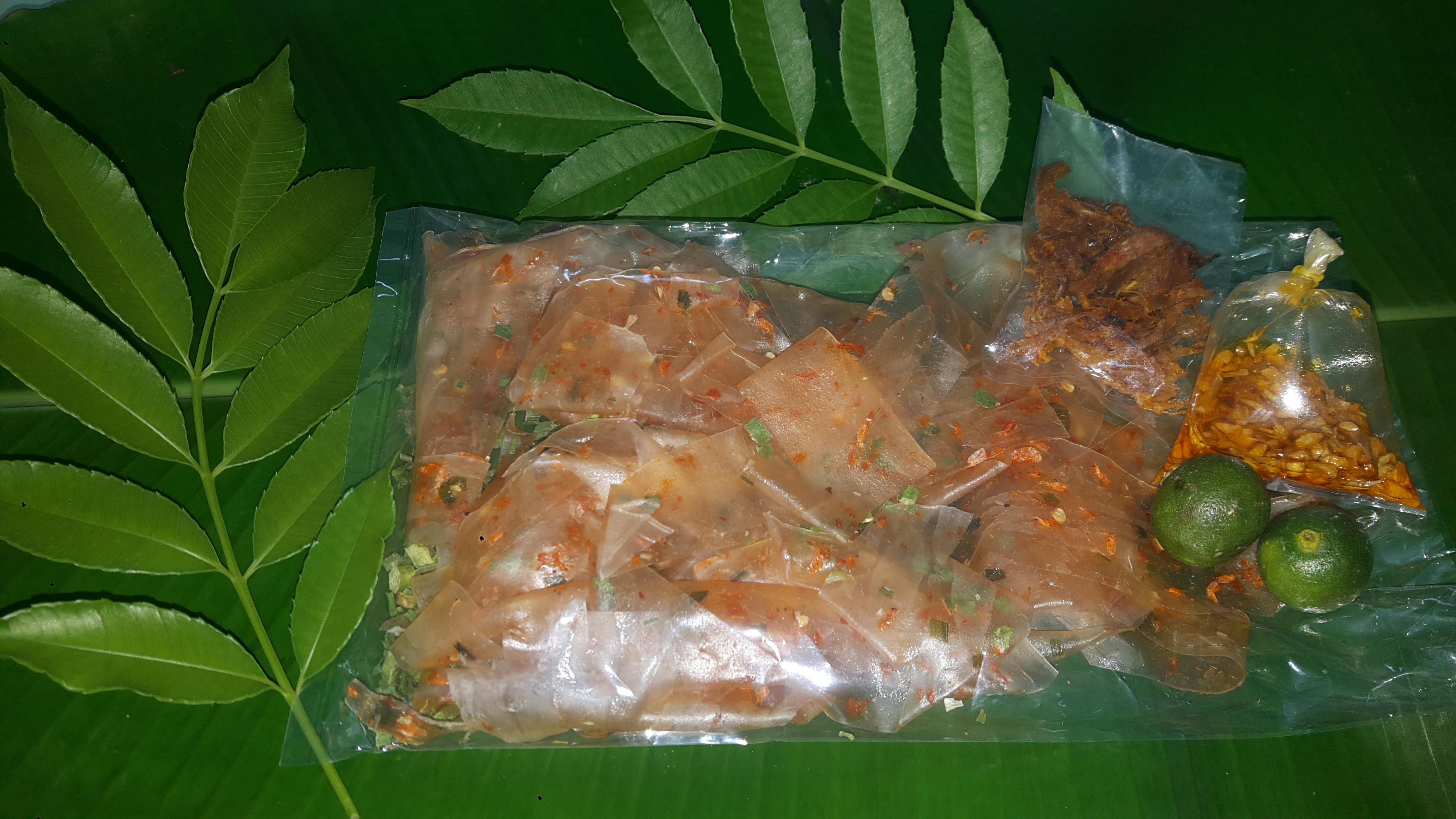 Bánh Tráng Dẻo Khô Mực