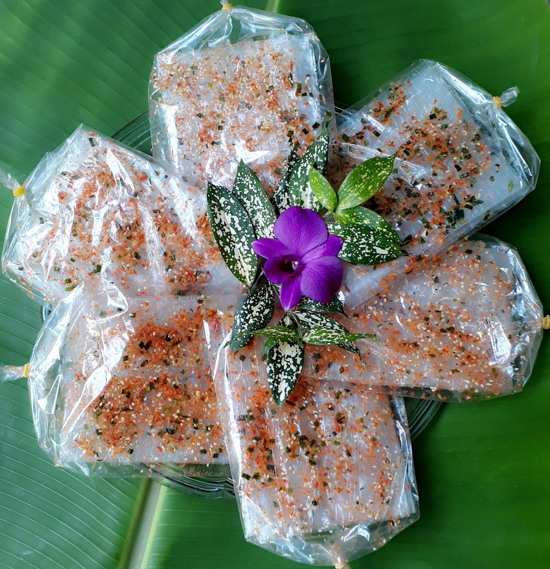 Bánh tráng Tép Cay Mè